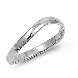 Sterling Silver Woman's Men's Thumb Ring Strong Unique 925 B