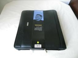 Franklin Covey Zipper Binder 3 Rings Genuine Leather